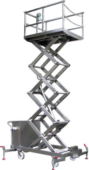 Manual Electric Scissor Lift