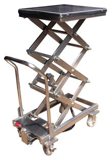 Manual 3x Scissor Lift