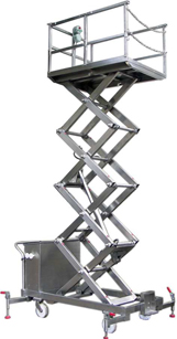 Manual Eleactric Scissor Lift